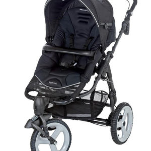 High Trek Stroller Black-0
