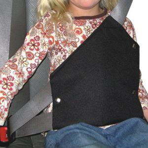 Secure-A-Kid Safety Harness for CAR seat belts (2 pack)-0