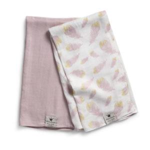 Elodie Bamboo Muslin Blanket - Feather Love