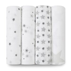 Aden+Anais Classic Muslin Collection 4 Pack Twinkle