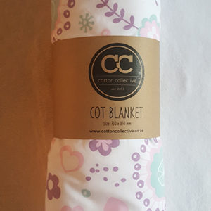 Baby Cot Blanket little birdie