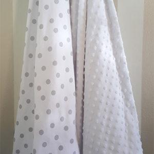 Baby Cot Blanket Polka Dot