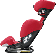 Easy front access recline position for ultimate comfort. Back of FeroFix reclines to suit the angle of the vehicle seat for best fit