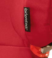 AirProtect technology in headrest reduces the risk of head injury by 20%