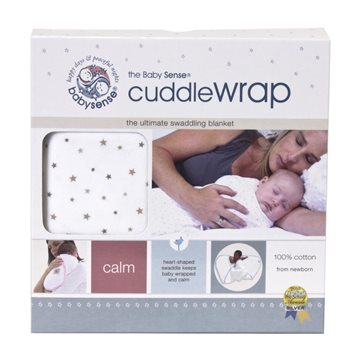 Baby Sense Cuddle Wrap - Blue-5587