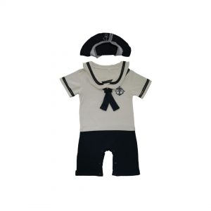 Cool-Baby-Sailor-Onesie-Hat-Navy-Blue