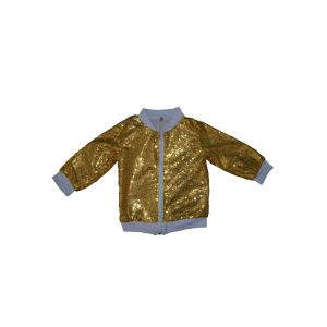 Disco-Glam-Bomber-Gold
