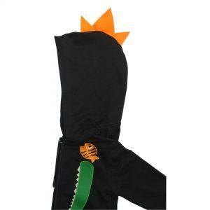 coolkid-croc-hoodie-black-orange-spikes