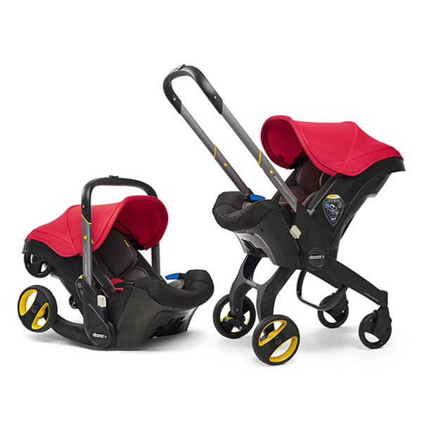 doona car seat flame red